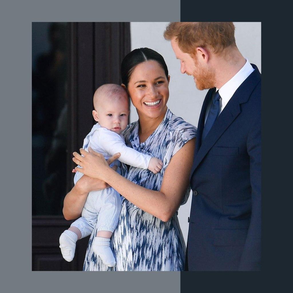 El bebé Archie ya es un mini ícono de moda (sustentable)