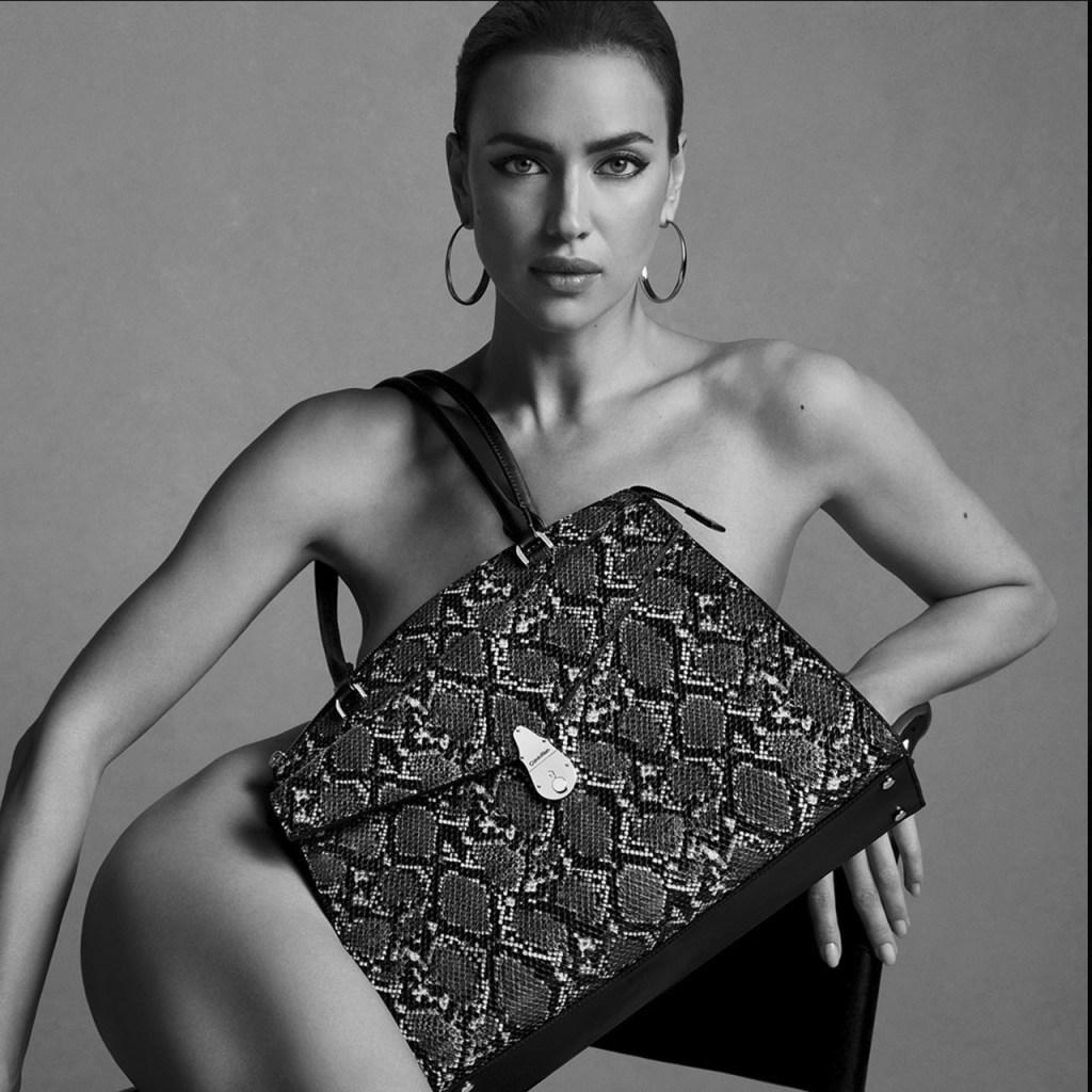 Fuerte y segura, así es Irina Shayk en la última colección de Calvin Klein
