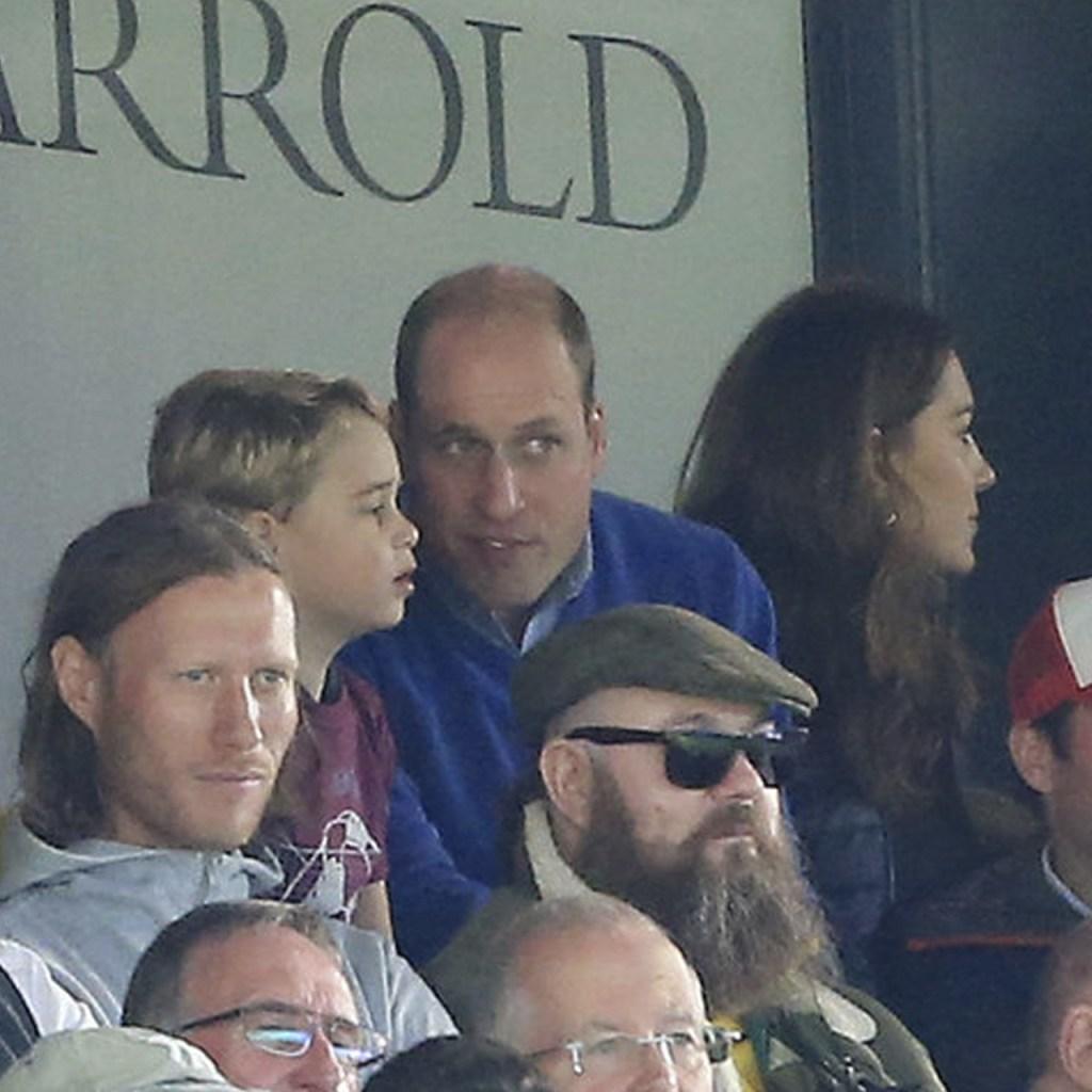 El príncipe George animó a su equipo de fútbol y sí, se convirtió en meme