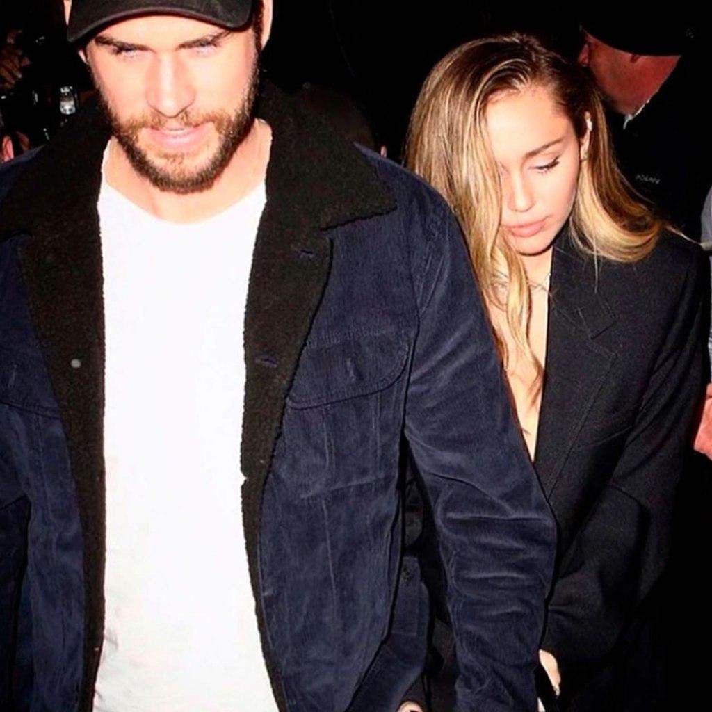 Oops! Miley Cyrus y Liam fueron a la misma fiesta de los Oscars