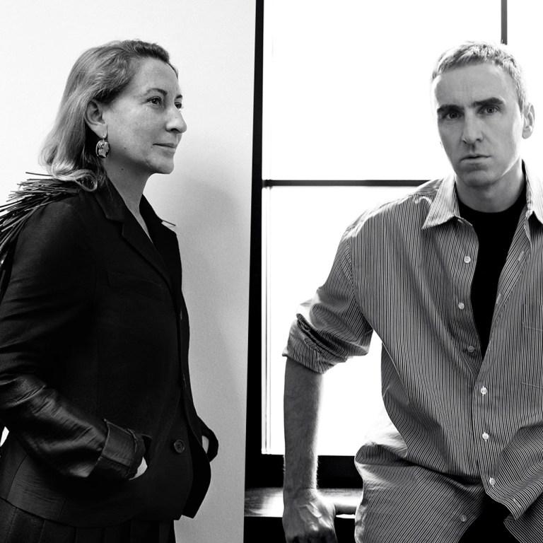 Raf Simons se une a Prada como co-director creativo