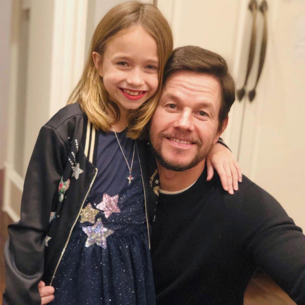 Mark Wahlberg dejó que su hija lo maquillara para entretenerla en casa