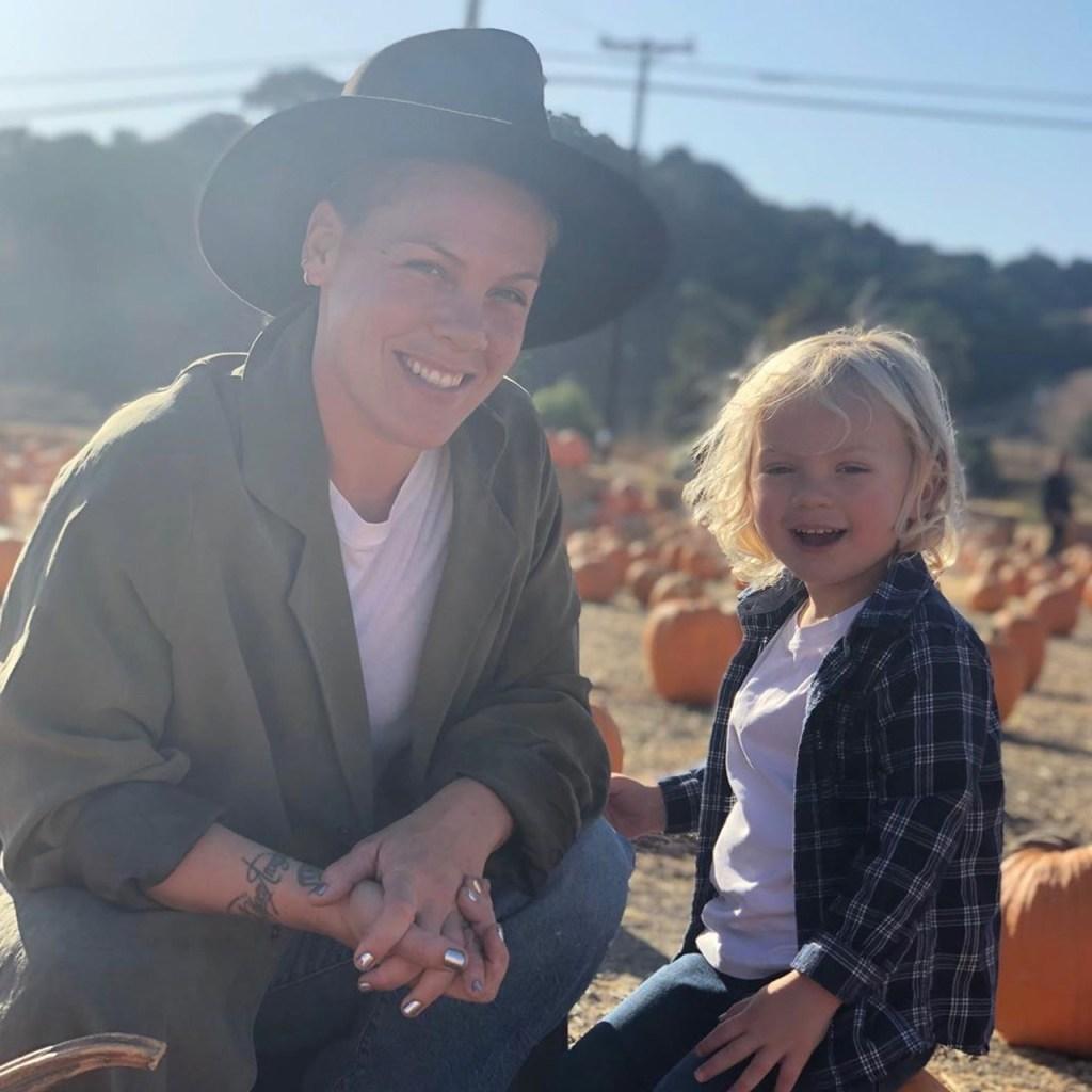 Pink y su hijo de 3 años se recuperan de coronavirus y donan 1 millón de dólares