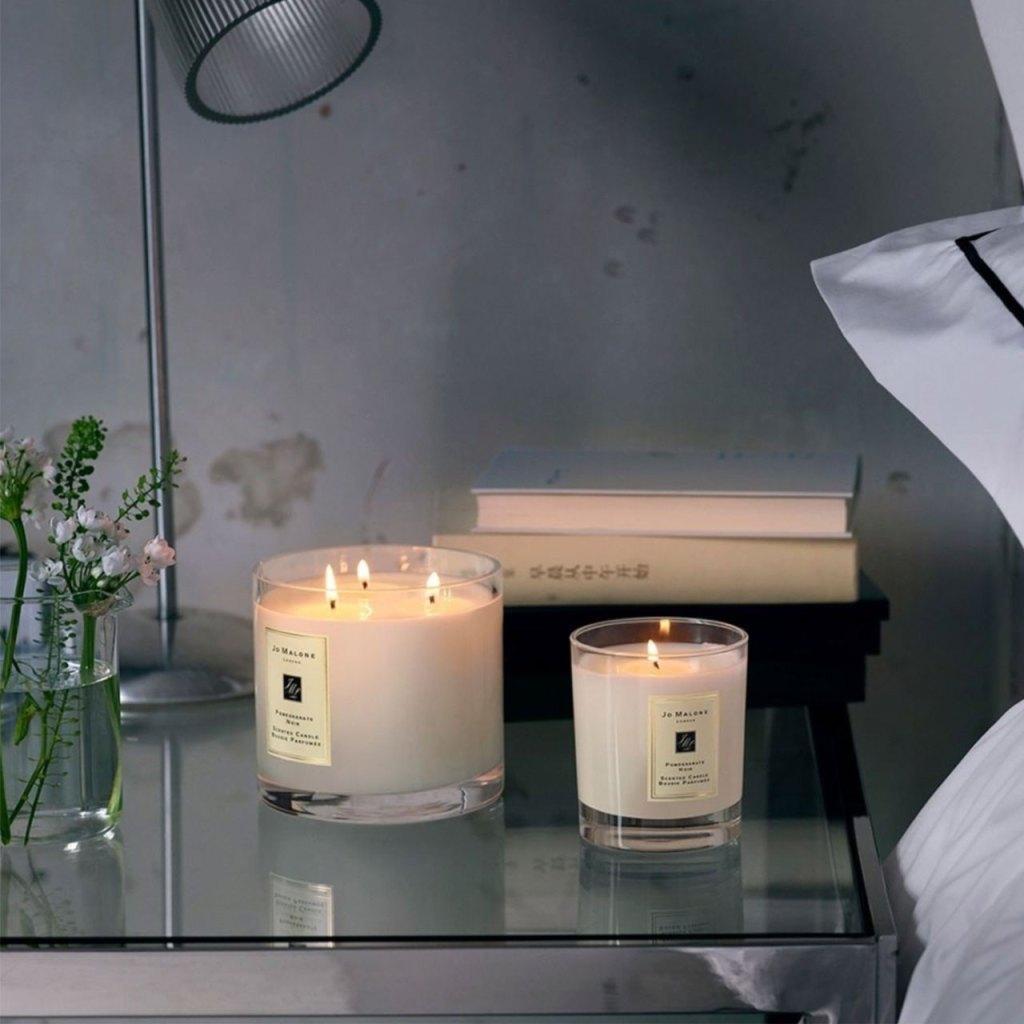 4 velas aromáticas para ambientar tu casa (llegan a domicilio)