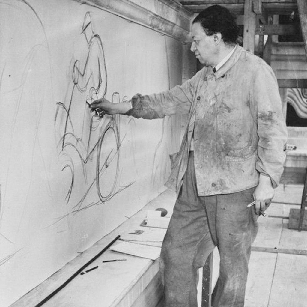 Las primeras pinturas de Diego Rivera que también marcaron historia