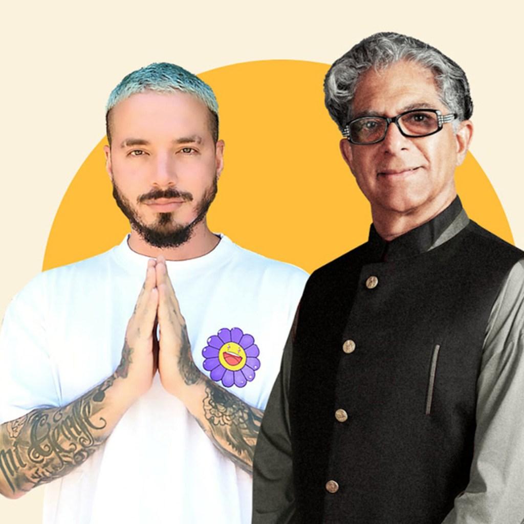 J Balvin y Deepak Chopra te invitan a meditar por 21 días