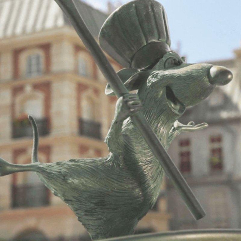 Remy (Ratatouille) tendrá su propia montaña rusa en Disneyland