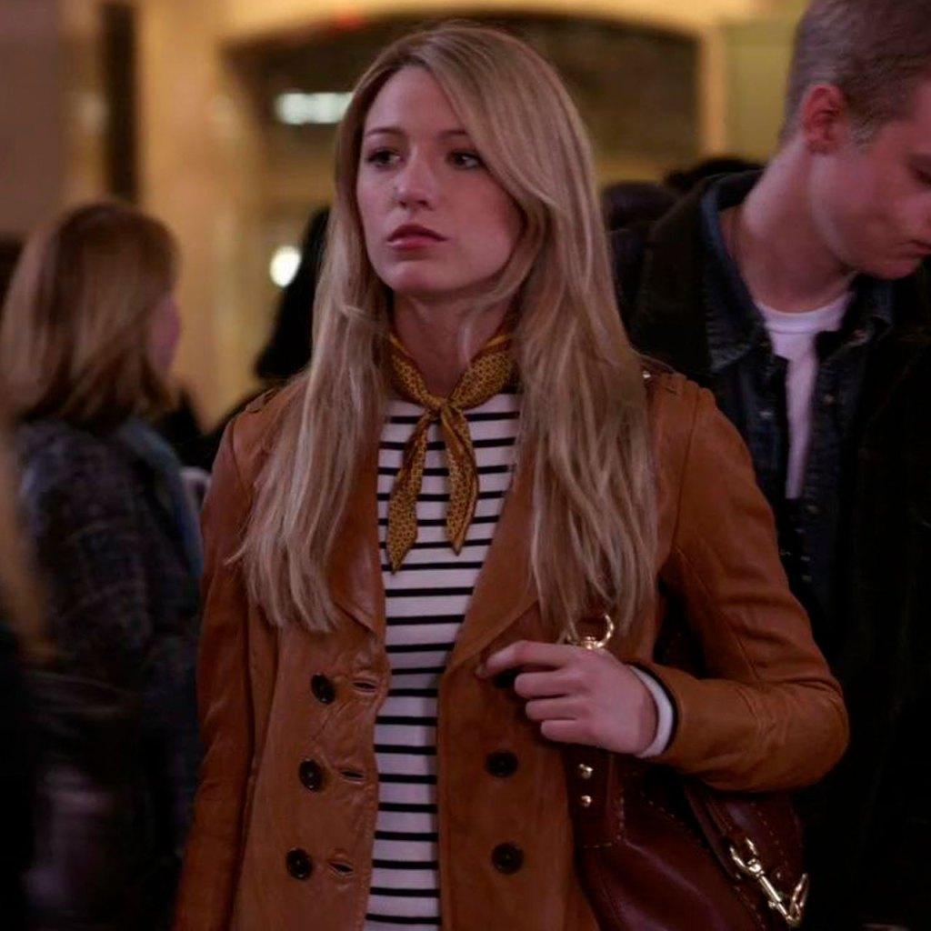 El icónico bolso de Blake Lively en Gossip Girl fue identificado por una fan