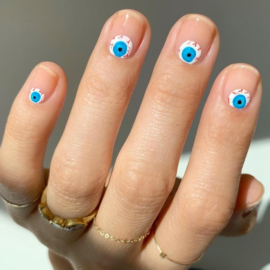 Boo! El nail art más aterrador para Halloween