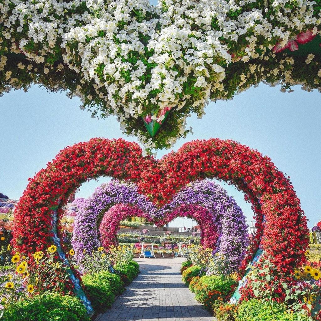 Este jardín tiene más de 150 millones de flores y se ha llevado dos récords Guinness