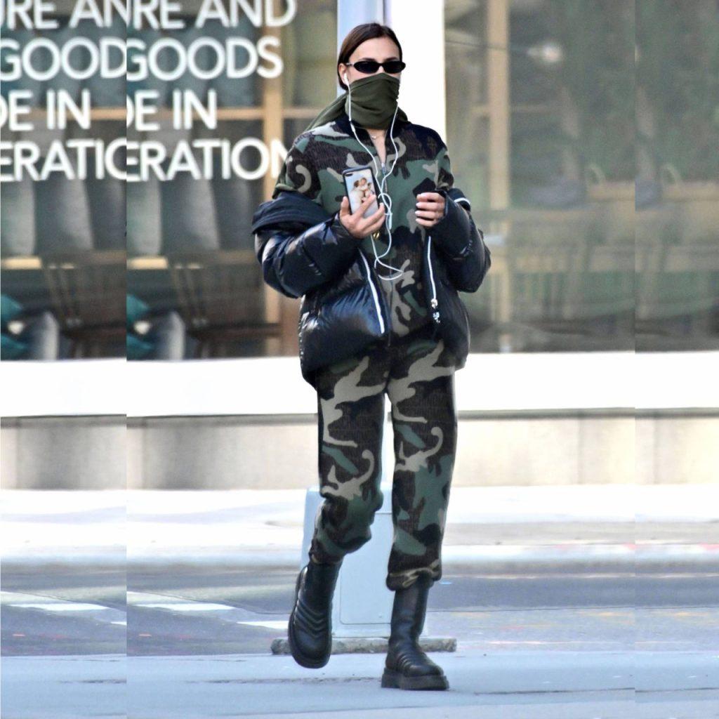 COMBAT BOOTS: ¿no sabes cómo llevarlas? Inspírate en Irina Shayk