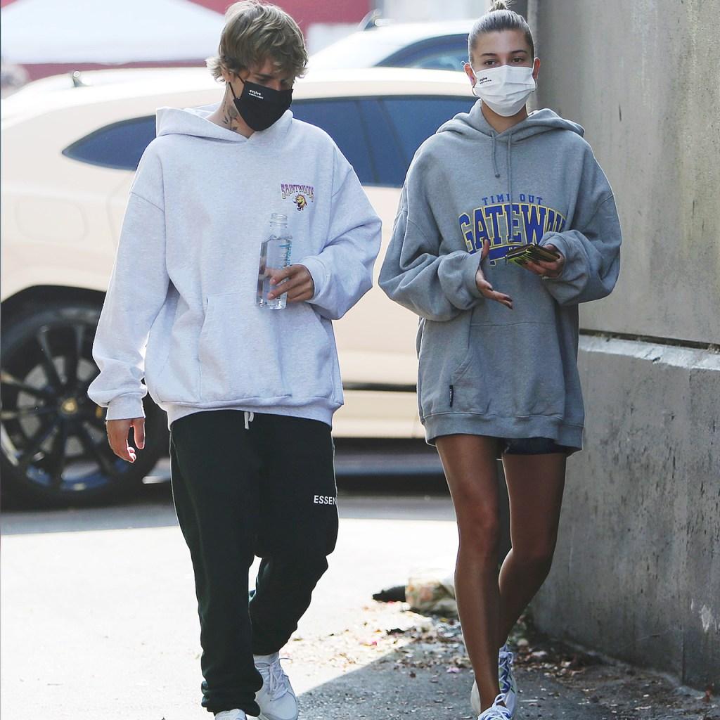 Hailey Bieber respondió a los rumores de embarazo antes de que empezaran