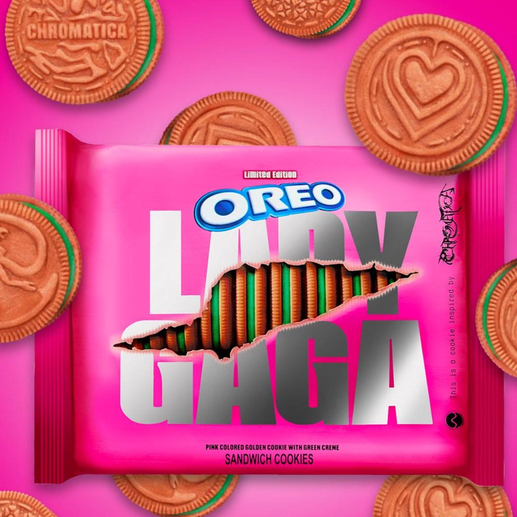 Oreo lanzó unas galletas rosas inspiradas en Lady Gaga