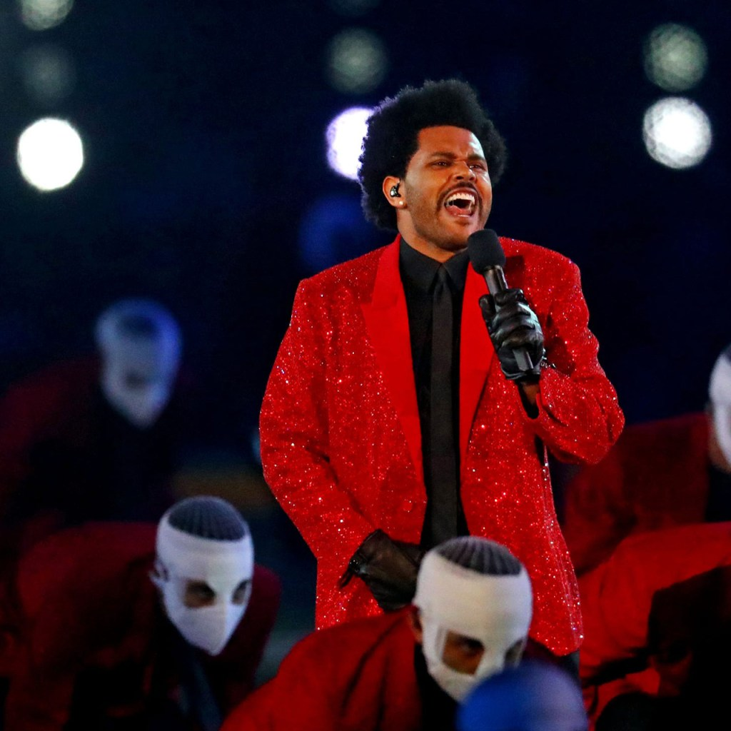 Givenchy Couture viste a The Weeknd en el Super Bowl