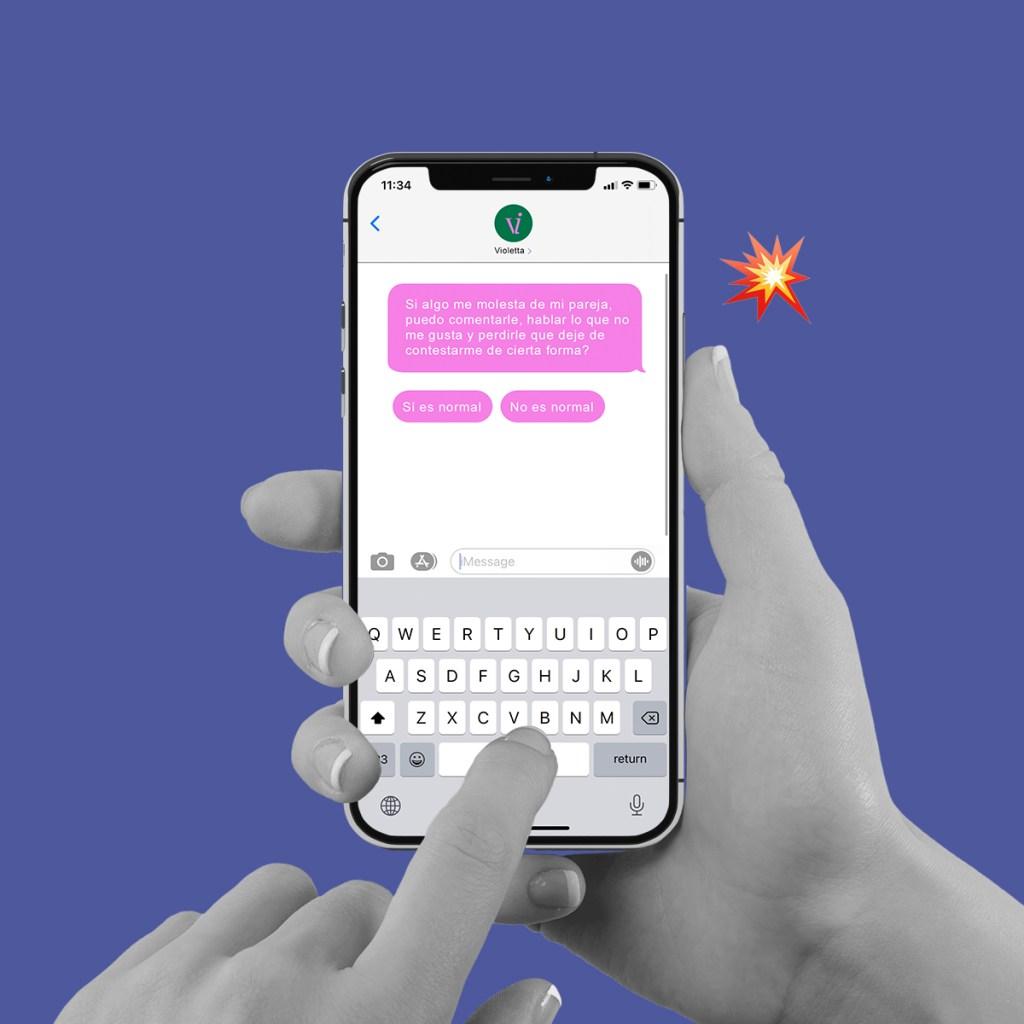 Violetta, la app que te ayuda a identificar relaciones violentas