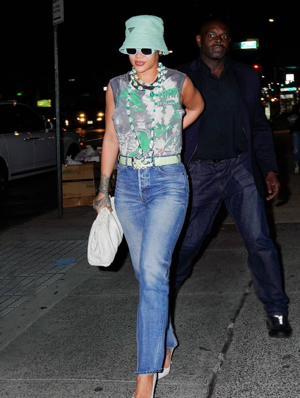 Street style de Rihanna