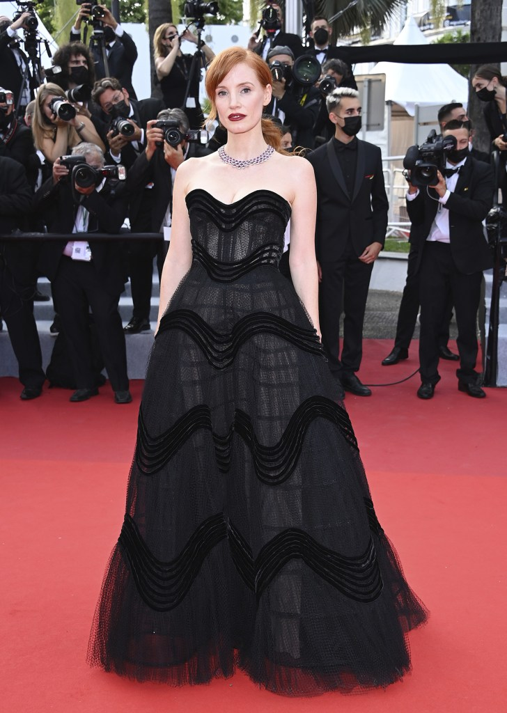 Jessica Chastain en Cannes