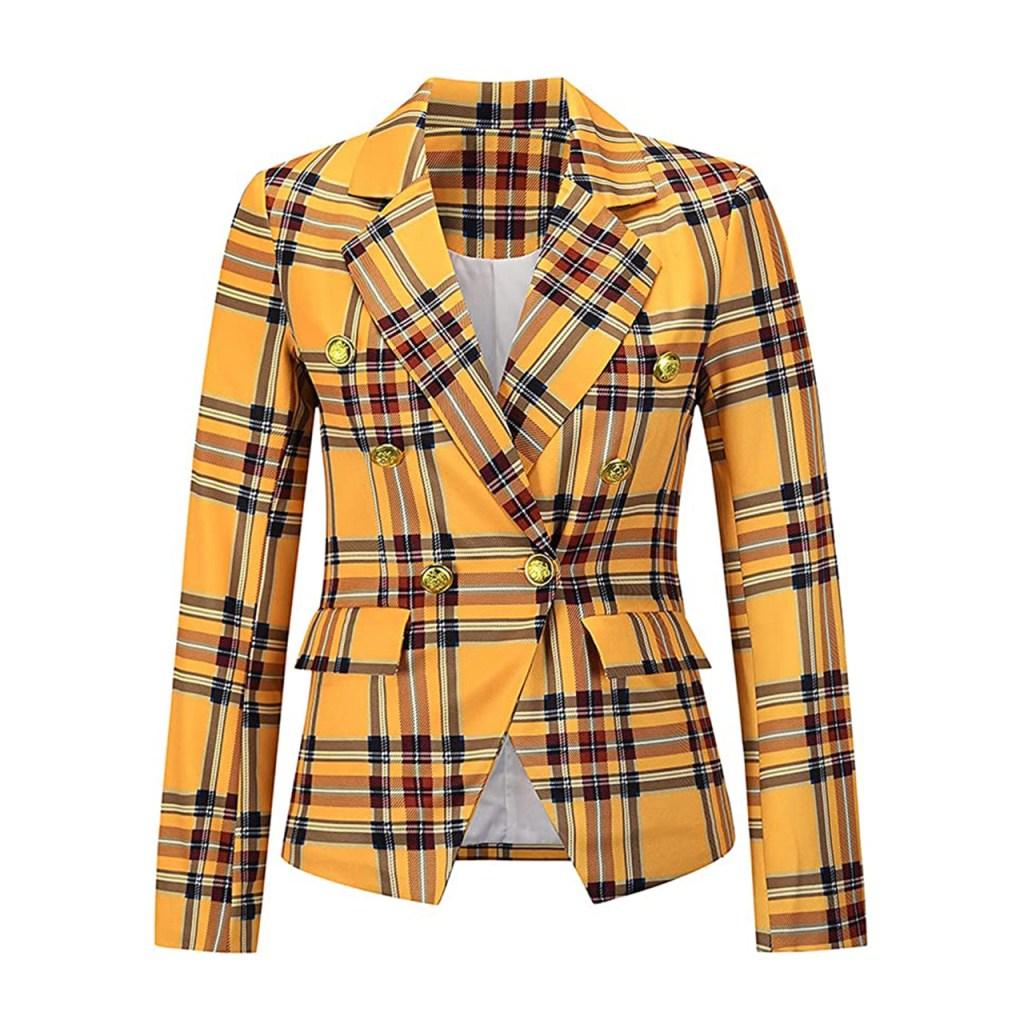 traje clueless amarillo