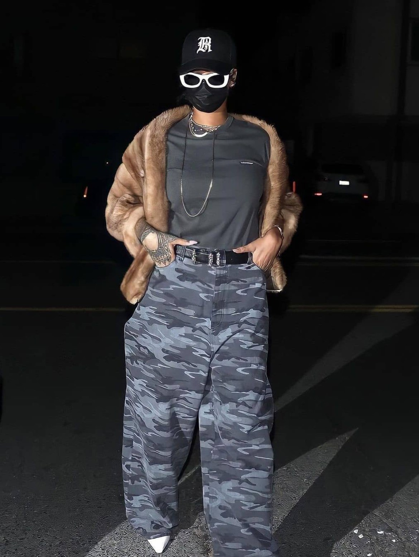 looks de street style de Rihanna