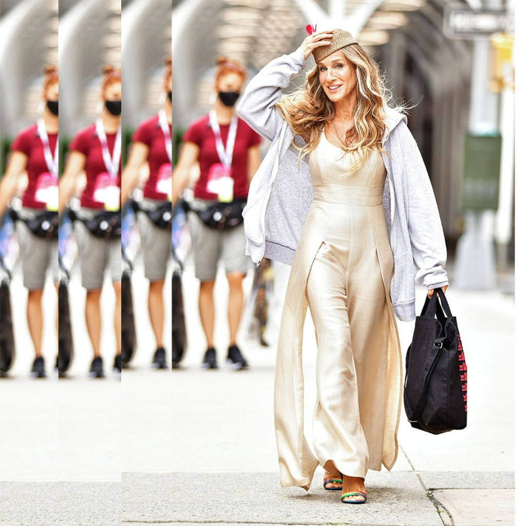 Los nuevos zapatos favs de Carrie en el reboot de Sex and The City