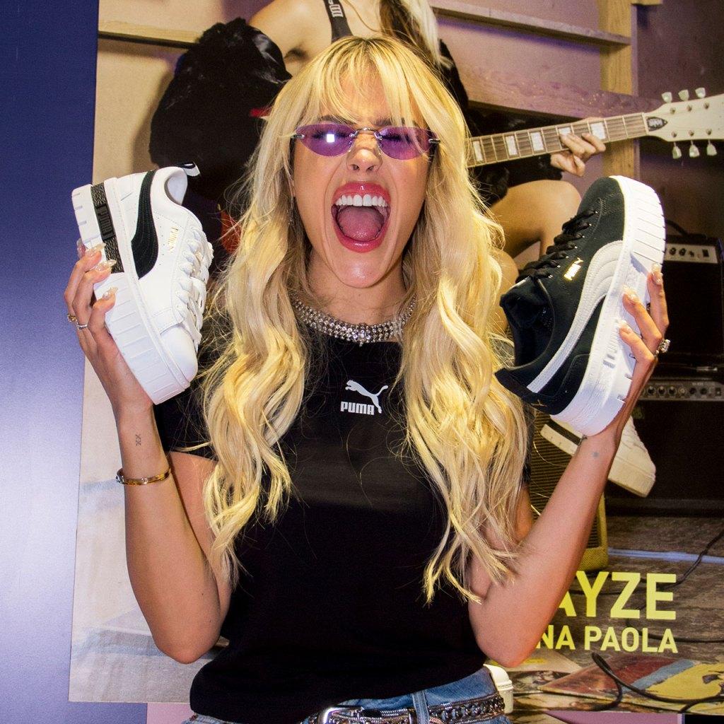 Danna Paola le dijo adiós a la tusa con sus Mayze de Puma