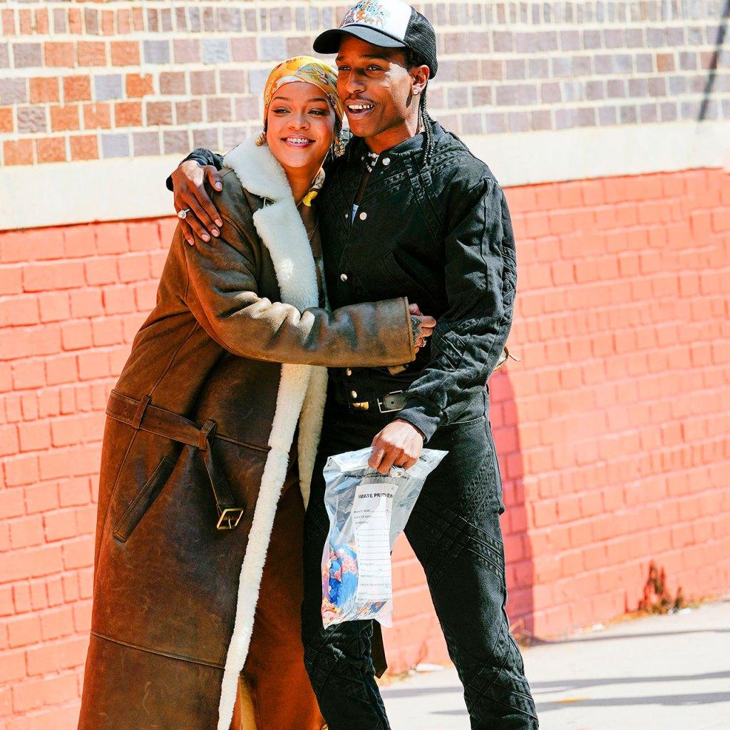 Las fotos de Rihanna y A$AP Rocky que confirman música nueva