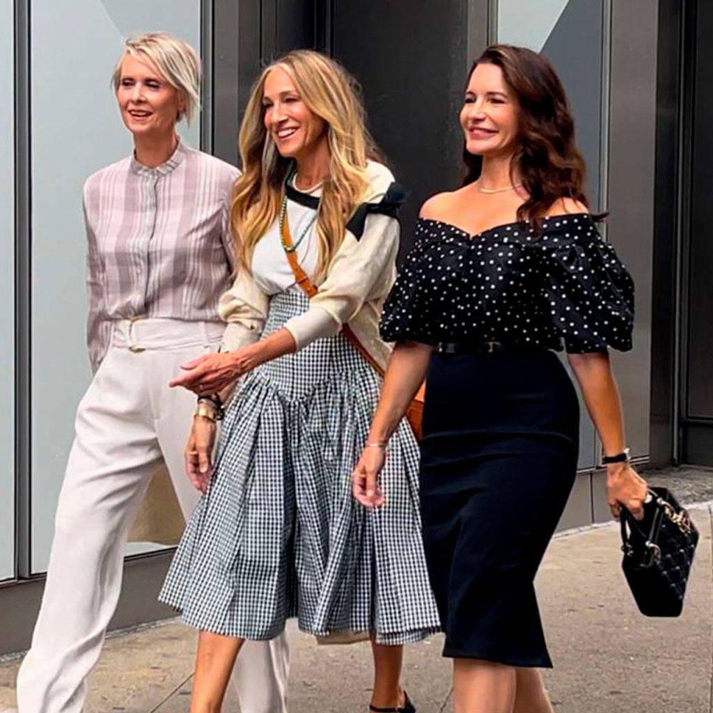 Los nuevos looks del reboot de Sex and The City (incluyendo las hijas de Charlotte)