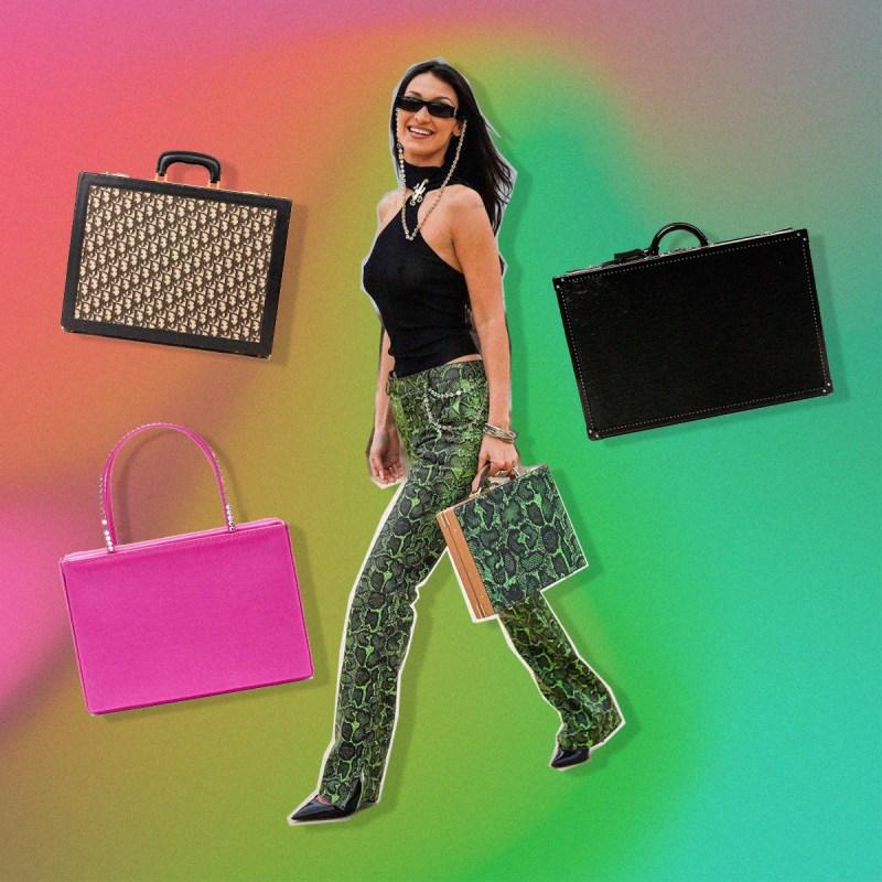 Maletines: la nueva bolsa favorita de Lady Gaga y Bella Hadid