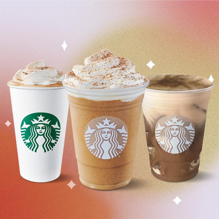 ¡Nuestro favorito está de vuelta! Recibe el otoño con Pumpkin Spice Latte de Starbucks