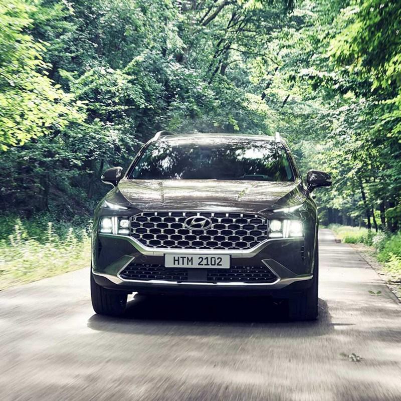 Rompe esquemas con la nueva Hyundai Santa Fe 2022