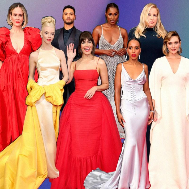 Todos los looks de la red carpet de los Emmys 2021