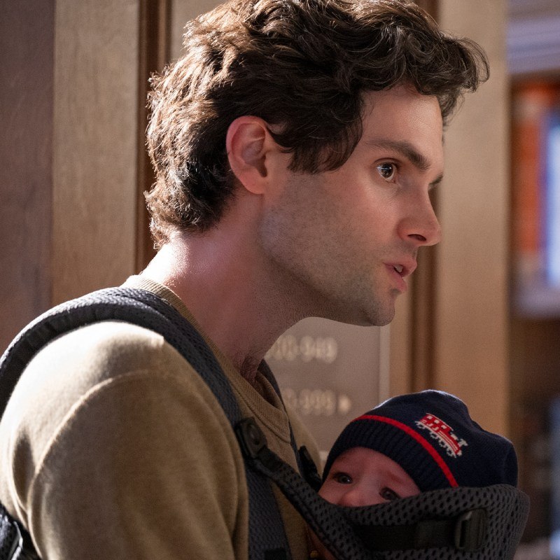 Lo que piensa Penn Badgley de la tercera temporada de 'You' y de Joe como papá
