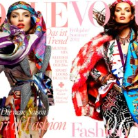 Picture Lust: Editorial Glam ~ With Carola Remer For Vogue Germany January 2012 Issue!