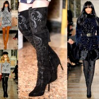 Get Over It With This Fall Trend: Rock Those Thigh High Boots!