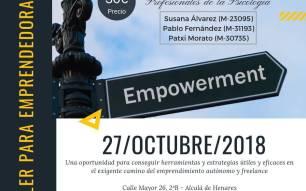 Taller para Emprendedora/es. Empowerment