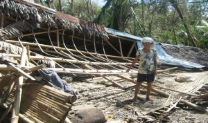 Typhoon Haiyan was the single biggest human catastrophe of 2013