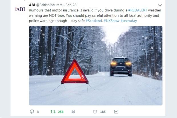 abi red alert warning