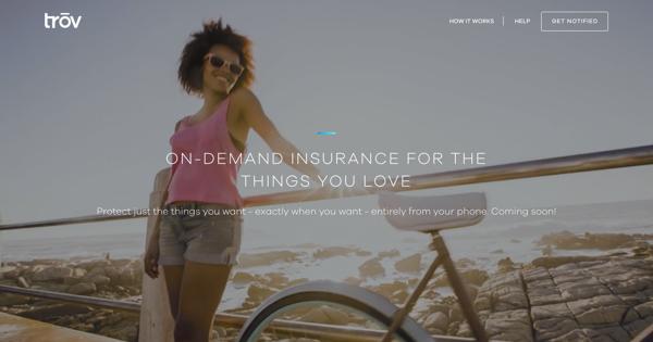 trov bike insurance