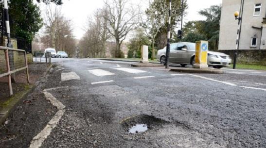 RAC potholes news