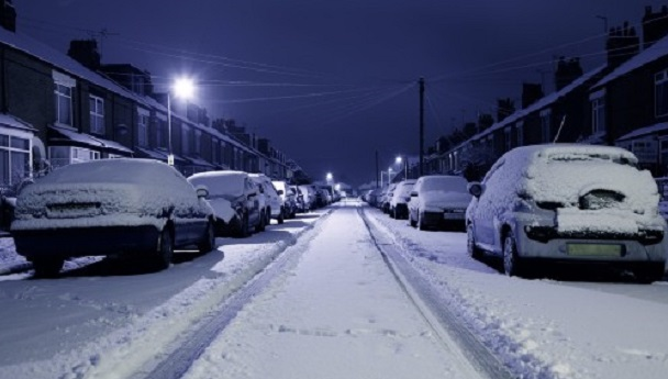 rac snow warning uk