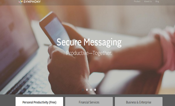 symphony secure messaging for insurtech companies