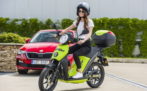 berider skoda scooter electric