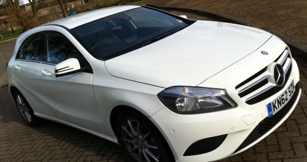 merc A180 2013 model white