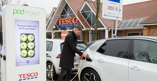 Tesco-offer-free-electric-car-charging