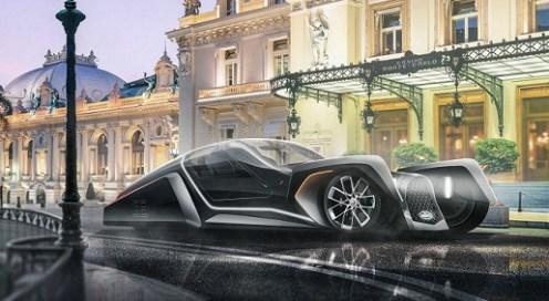 electric bugatti for 2040