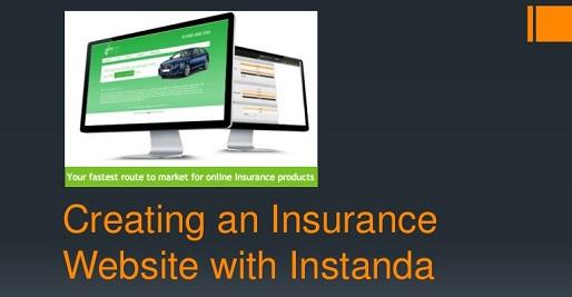 instanda no code software for insurance companies