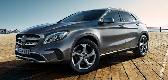 merc GLA class leasing options prices