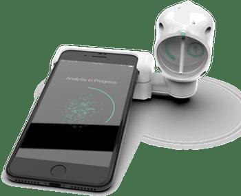 sanofi luminostics smartphone corona virus breath tests