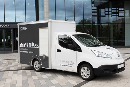 vic young electric van delivery vehicle