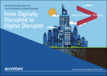 From Digitally Disrupted to Digital Disrupter